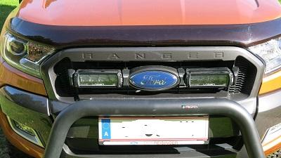 Ford Ranger Lazer Lamps inkl Rammbügel