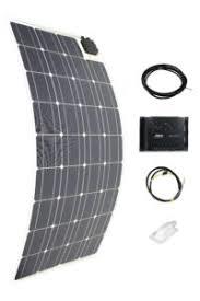 super flache Solar Module gesehen bei Adventure Offroad house